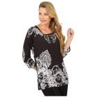 BRILLIANTSHIRTS Shirt 'Lacona' schwarz/weiß 36/38 - 101761900001 - 1 - 140px