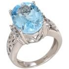 Ring 925 Sterling Silber Sky Blue Topas behandelt 19 - 101786900002 - 1 - 140px