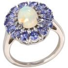 Ring 925 St. Silber rhodiniert Äthiopischer Opal 21 - 101787200004 - 1 - 140px