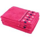 Handtuch Punkte 4er Set, pink - 101811500000 - 1 - 140px