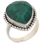 Ring 925 Sterling Silber Beryll grün 18 - 101848500001 - 1 - 140px
