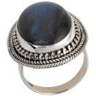 Ring 925 Sterling Silber, Labradorit 17 - 101849100001 - 1 - 140px