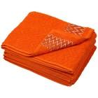 Handtuch mit Bordüre 4er Set, orange - 101852300000 - 1 - 140px