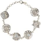 Armband 925 St. Silber Regenbogenmondstein - 101869800000 - 1 - 140px