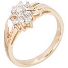 Ring 585 Gelbgold Brillant 16 - 101911400001 - 1 - 140px