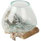 Darimana Glas auf Kaffeewurzel white wash - 101937500000 - 1 - 140px