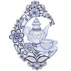 Plauener Spitze Fensterbild Kaffee - 101938400000 - 1 - 140px
