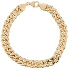 """Panzerarmband 750 Gelbgold """"made in Italy"""" ca.21cm - 101945900000 - 1 - 140px"""