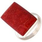 Ring 925 St. Silber Schaumkoralle eckig   - 101956500000 - 1 - 140px