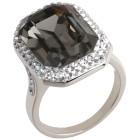 Ring 925 Sterling Silber mit Swarovski® Kristallen 21 - 101987100004 - 1 - 140px