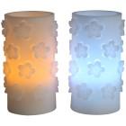 LED-Kerzen Blumen 2tlg. - 102006600000 - 1 - 140px