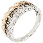 Ring 585 Tricolor Brillanten 19 - 102011000002 - 1 - 140px
