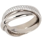 Ring 950 Platin Brillanten 18 - 102012400001 - 1 - 140px