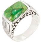 Ring 925 St. Silber Türkis grün stabilisiert 18 - 102019300002 - 1 - 140px