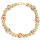 """Armband """"Rosetta"""" 585 Gold tricolor - 102031200000 - 1 - 140px"""