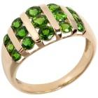Ring 585 Gelbgold Chromdiopsid 20 - 102037300004 - 1 - 140px
