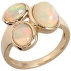 Ring 585 Gelbgold Äthiopischer Opal 16 - 102037700001 - 1 - 140px