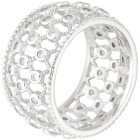 Ring 925 Sterling Silber rhod. Zirkonia 18 - 102075900001 - 1 - 140px