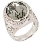 Ring mit Swarovski® Kristallen hellblau   - 102110200000 - 1 - 140px