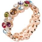 Ring mit Swarovski® Kristallen, ca. 3,9 g 17 - 102110700001 - 1 - 140px