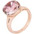 Ring mit Swarovski® Kristallen pink   - 102111200000 - 1 - 140px