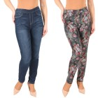 2in1 Wende-Jeans 'Roses' darkblue/multicolor 36/38 - 102145300001 - 1 - 140px