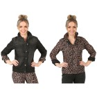 2in1 Wende-Jeansjacke 'Wild Thing' black/leo 52/54 - 102145800005 - 1 - 140px