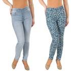 2in1 Wende-Jeans 'Butterflies' lightblue/multicolo   - 102146600000 - 1 - 140px