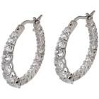 Creolen 925 Sterling Silber, Zirkonia - 102151100000 - 1 - 140px