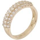 Ring 585 Gelbgold Brillanten, poliert   - 102229600000 - 1 - 140px