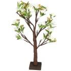 LED-Blütenbaum, weiss, 10x30x60 cm, Künstsoff - 102253500000 - 1 - 140px