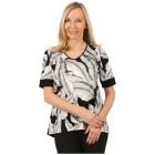 RÖSSLER SELECTION Damen-Shirt 'Amaya' schwarz/ecru   - 102291300000 - 1 - 140px