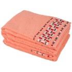 Handtuch 4-teilig, pfirsich, 50 x 100 cm - 102320700000 - 1 - 140px
