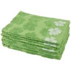 Handtuch 4-teilig, Blüten grün - 102323500000 - 1 - 140px