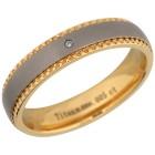 Ring Titan bicolor mit Brillant 21 - 102335800006 - 1 - 140px