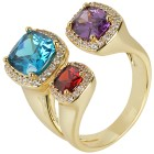 Crystal Secrets Ring, gelbgold   - 102349500000 - 1 - 140px