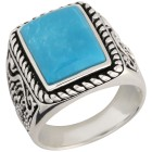 Ring 925 Sterling Silber Türkis,  ca. 6,1 ct.   - 102364500000 - 1 - 140px