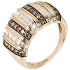 Ring 585 Gelbgold Chocolate Brillanten, poliert   - 102396200000 - 1 - 140px