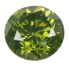 Edelstein Brillant ca. 0,13 ct. grün behandelt - 102404000000 - 1 - 140px