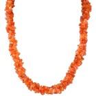 Collier Karneol, orange