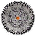 Mandala I Edelsteinmünze 21 Rhodolithe/Spessartite - 102436500000 - 1 - 140px