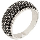 Ring 925 Sterling Silber Spinell, schwarz   - 102446300000 - 1 - 140px