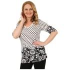 BRILLIANTSHIRTS Damen-Shirt 'Fabia' schwarz/weiß   - 102458500000 - 1 - 140px