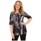 BRILLIANTSHIRTS Damen-Shirt 'Flavia' schwarz/weiß   - 102458900000 - 1 - 140px