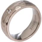 Ring Titan gehämmert Zirkonia   - 102472500000 - 1 - 140px