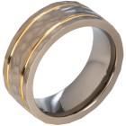 Ring Titan gehämmert bicolor   - 102472700000 - 1 - 140px