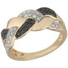 Ring 585 Gelbgold Diamanten ca. 0,50ct. 18 - 102476800002 - 1 - 140px