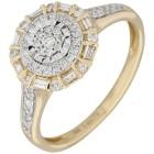 Ring 585 Gelbgold, Diamanten   - 102662900000 - 1 - 140px