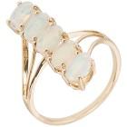Ring 585 Gelbgold Äthiopischer Opal, poliert   - 102668600000 - 1 - 140px