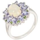 Ring 925 St. Silber rhod. Opal Tansanit, poliert 20 - 102668900005 - 1 - 140px